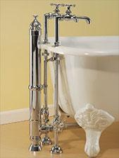 SOTC Cast Iron Tub Floor Faucet
