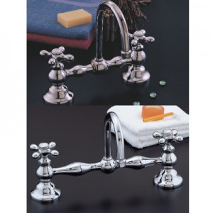 "Bridge Faucet 8"" and 12"""