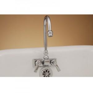 Gooseneck Clawfoot Tub Faucet