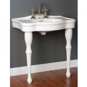 Lavatory Sink Console with Legs