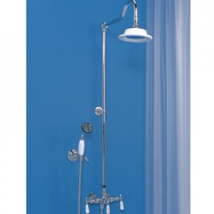 Exposed Shower with hand Held Shower