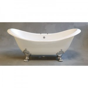 Cast Iron Double Ended Slipper Bathtub