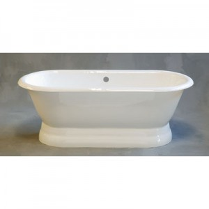 Cast Iron Dual Bathtub