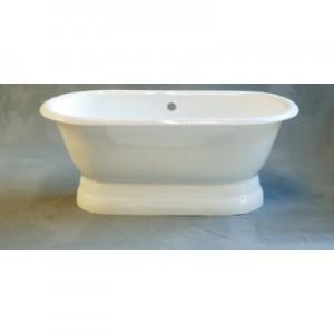 Cast Iron Dual Bathtub