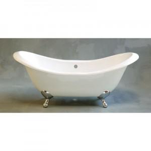 Cast Iron Double Ended Slipper Bathtub