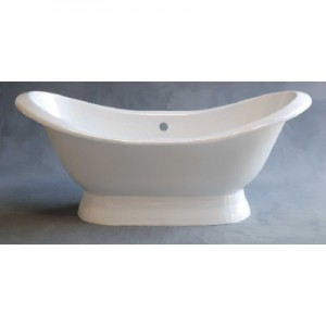 Cast Iron Double Ended Slipper Tub