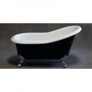 Acrylic Slipper Bathtub Tuxedo