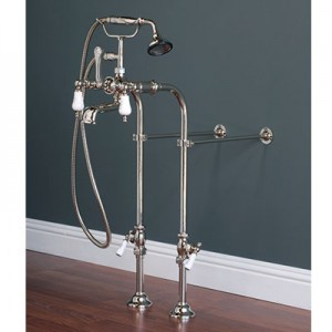 Free-Standing Faucet Supply Set