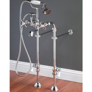 Freestanding Faucet Supply Set