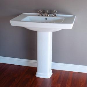 Lavatory Pedestal Sink