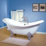Acrylic Double Ended Slipper Tub