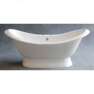 Acrylic Double Ended Slipper Bathtub