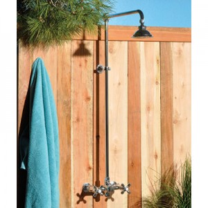 Exposed Outdoor Shower Unit